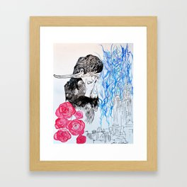Desolate Framed Art Print
