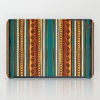 tribal iPad Cases featuring Tribal by Klara Acel