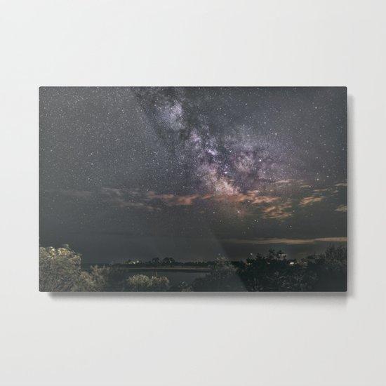 Milkyway at Loblolly Cove Metal Print