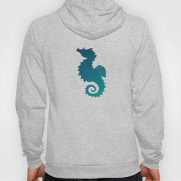 Seahorse of a Different Color ~ Marine Life ~ (Copyright 2015) Hoody