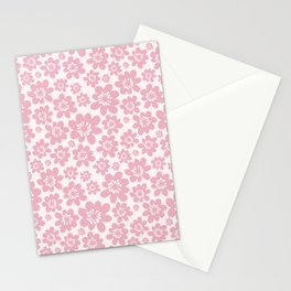 In the mood for pink Stationery Cards