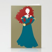 merida Stationery Cards featuring Merida by Dewdroplet