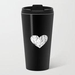 ghost paint heart Metal Travel Mug