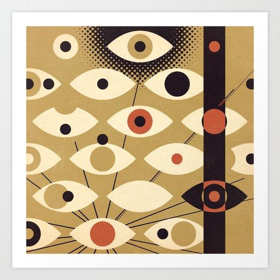 Divisions - Part II Art Print