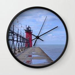 Little Red Light Wall Clock