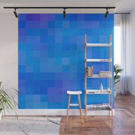 Re-Created Colored Squares No. 60 by Robert S. Lee Wall Mural