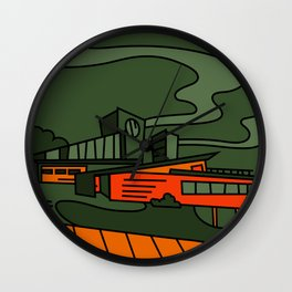 Kim Possible House Re-Imagined Wall Clock