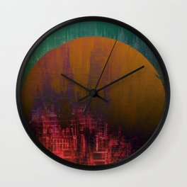 Fantastic Planet / Urban Fantasy Wall Clock