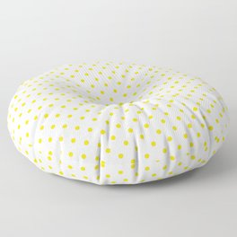 Dots (Gold/White) Floor Pillow