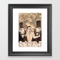 IND ARG Framed Art Print