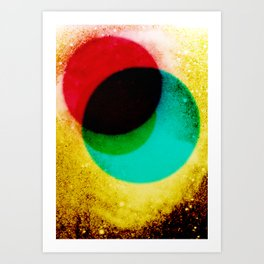 Phobos and Deimos Art Print