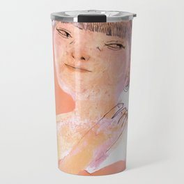Cheveux en tresses Travel Mug