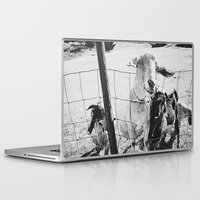 goat Laptop & iPad Skins featuring Goat by Leah Flores