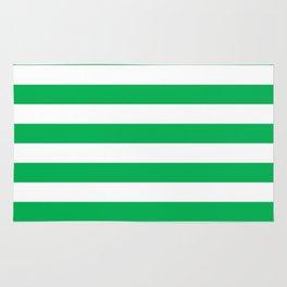 Green Stripes Rug