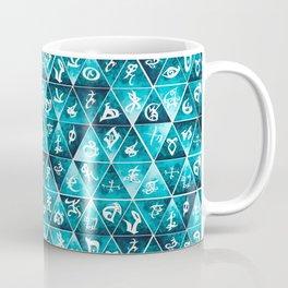 Shadowhunters Runes Mosaic Coffee Mug