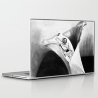frog Laptop & iPad Skins featuring Frog by donotseemeart
