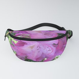 Pink Large Flowers Fanny Pack