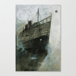 The Upper Berth Canvas Print