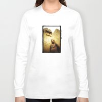 africa Long Sleeve T-shirts featuring Africa by Araceli Segarra