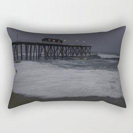 Brave waves II Rectangular Pillow