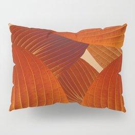 Leaves in Terracotta Color #decor #society6 #buyart Pillow Sham