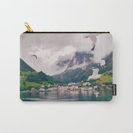 Wandering in Fjords Carry-All Pouch