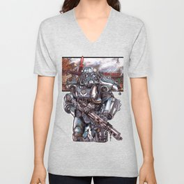 Fallout 4: Brotherhood of Steel Soldier Unisex V-Neck