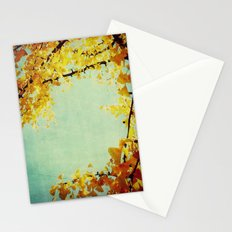 Gingko Branches Stationery Cards