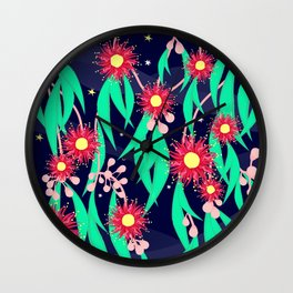 Night-time in the Australian Bush Wall Clock