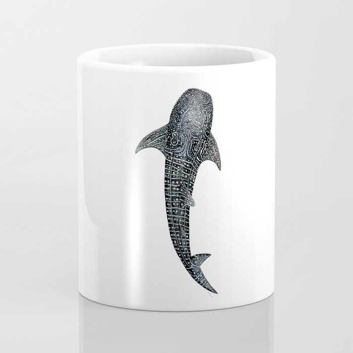 Whale shark for divers, shark lovers and fishermen Coffee Mug