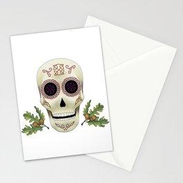 Knotwork Skull Stationery Cards