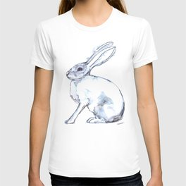 Hare on alert T-shirt