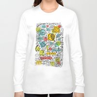 rush Long Sleeve T-shirts featuring DON'T RUSH ME by Matthew Taylor Wilson