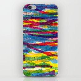 stripes traffic iPhone Skin