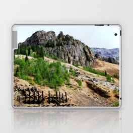 Sunnyside Mill and Rocky Crags Towering Overhead Laptop & iPad Skin