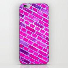 violet wall II iPhone & iPod Skin