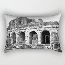 Roman Amphitheatre in Capua, Italy Rectangular Pillow