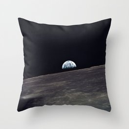 Earthrise Throw Pillow