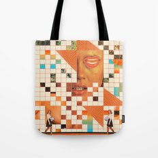 Orange poem Tote Bag