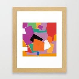 Variation on a snail Framed Art Print