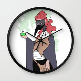free bloodlettings Wall Clock