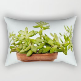 The Unidentified Houseplant Rectangular Pillow