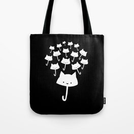 minima - cat rain Tote Bag