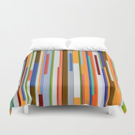 Abstract Composition 609 Duvet Cover