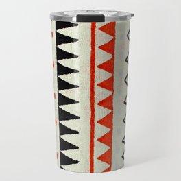 aztec mexican kilim pattern Travel Mug