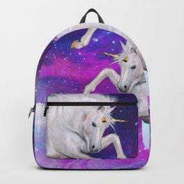 space unicorns v Backpack