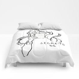 secret girl Comforters
