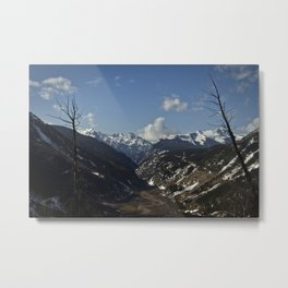 Silverton Valley - Colorado Metal Print