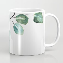 Eucalyptus leaves, illustration, botanical Coffee Mug