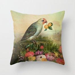 Mandarin Basilic Throw Pillow